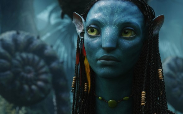Avatar character Neytiri